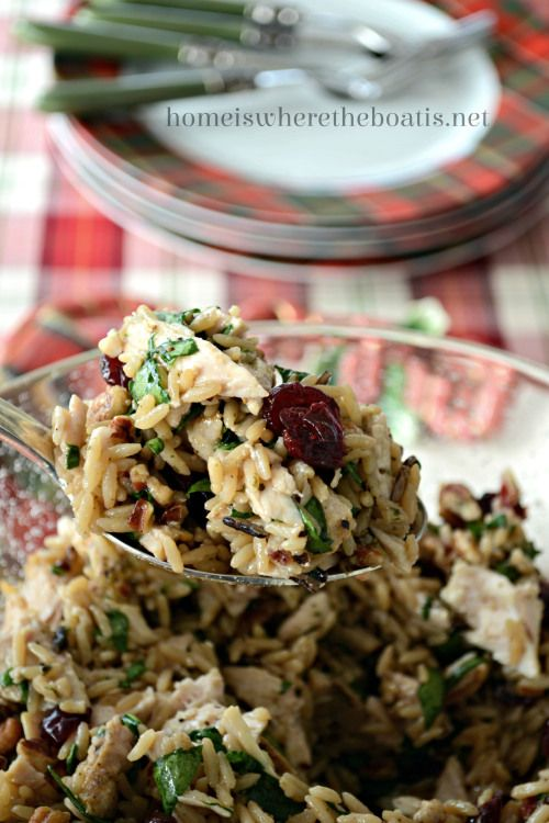 More like this: wild rice , cranberries and rice .