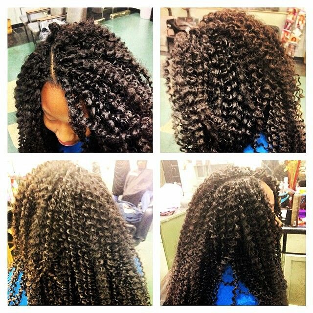 Crochet Hair Curl Patterns : Freetress Bohemian curl crochet braids Beautiful hair Pinterest