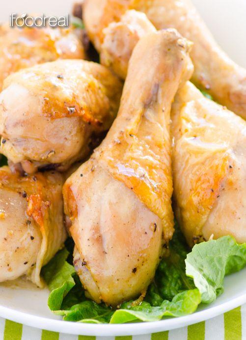 Healthy #Recipe / Simple Baked Dijon Chicken