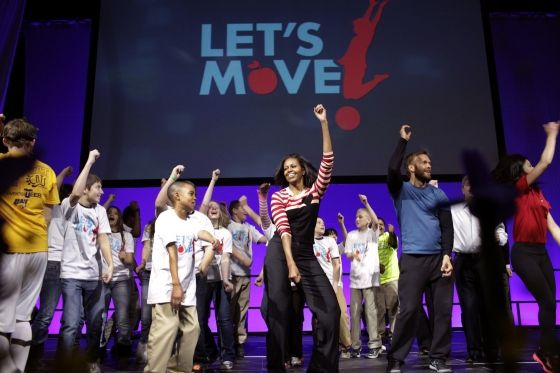 Let's Move Day in Des Moines with Michelle Obama #Des_Moines #Michelle_Obama #Health #Wellness #Kids