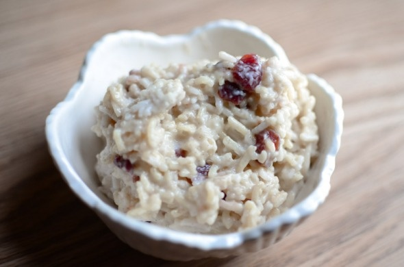 Coconut Rice Pudding with cranberries and cardamom. My very own, it's ...