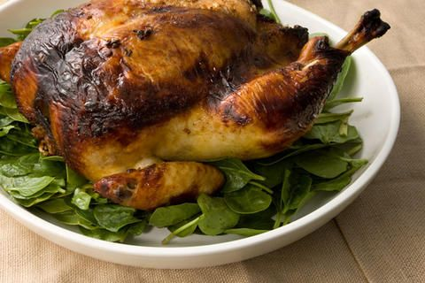 Five-Spice Roasted Chicken Recipe | Noms! | Pinterest