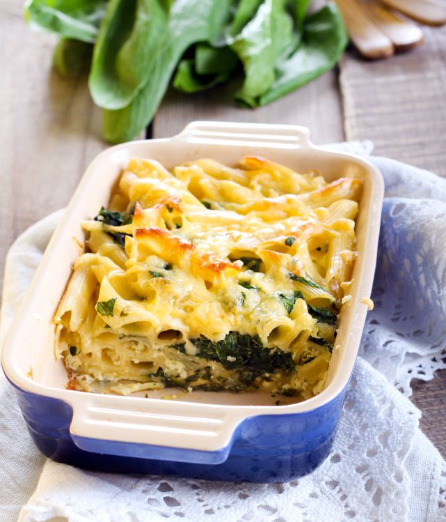 Spinach Ricotta Bake | Food for the family... | Pinterest