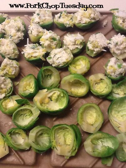 Sprouts - substituted ricotta with plain greek yogurt and cream ...