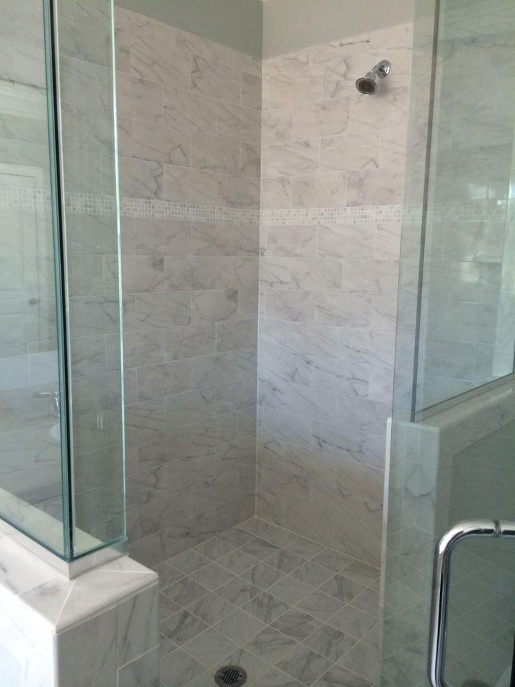 Walk in shower beautiful bathrooms pinterest for Beautiful bathrooms pinterest