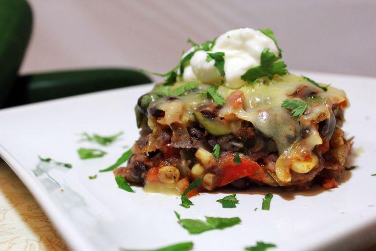 Roasted Vegetable Enchilada Casserole | Vegetarian/Vegan Cooking | Pi ...