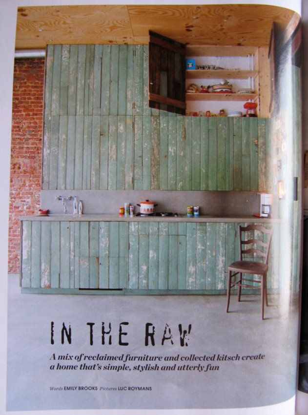 Reclaimed Kitchen Cabinets Kitchens Pinterest