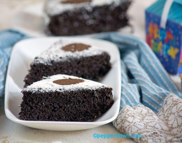 Easy n Quick Vegan Chocolate Cake | Recipe