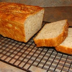 herb batter bread. a relatively simple yet flavorful side option.