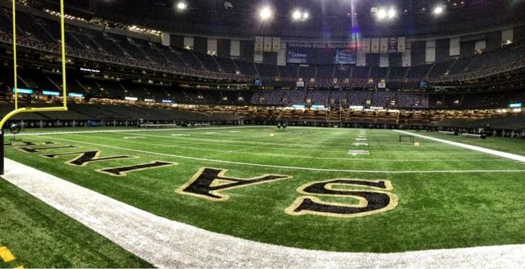 #NewOrleansSaints #Saints #Superdome #football