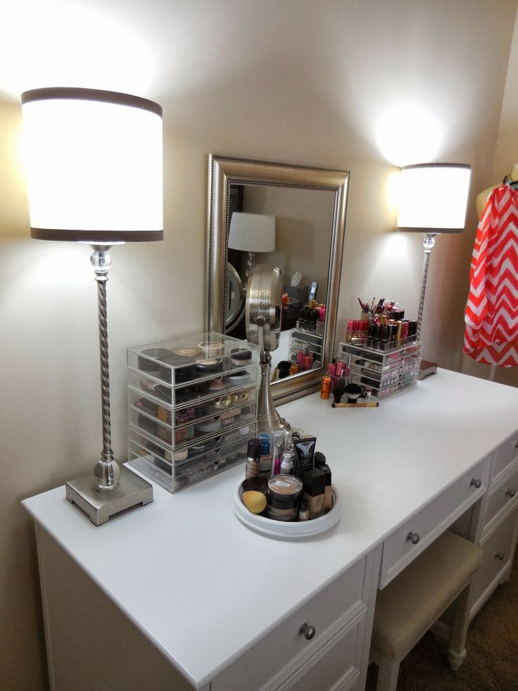 NEW Makeup Vanity And Organization Ideas My Videos Blog Pintere