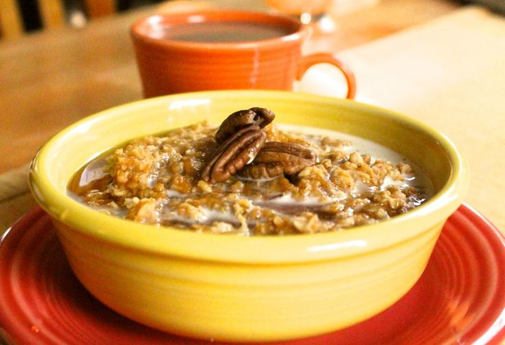 pumpkin pie oatmeal: this is delicious and perfect for a chilly ...