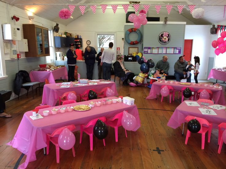 Party set up | Reagan Minnie Mouse 2nd Birthday Party. | Pinterest