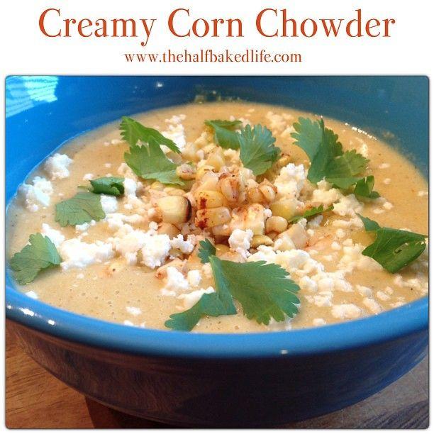 Creamy Corn Chowder | Favorite Recipes | Pinterest