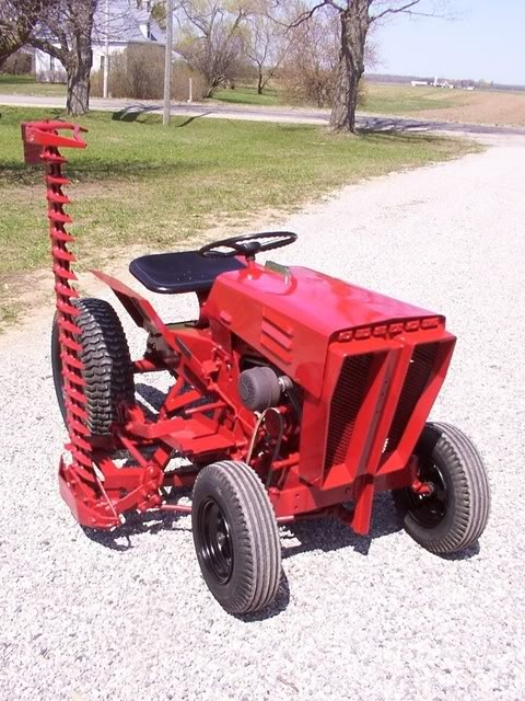 60s sears garden tractor 3 39 mower country love pinterest for Garden implements list