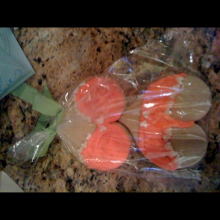 Bachelorette party cookies. =)