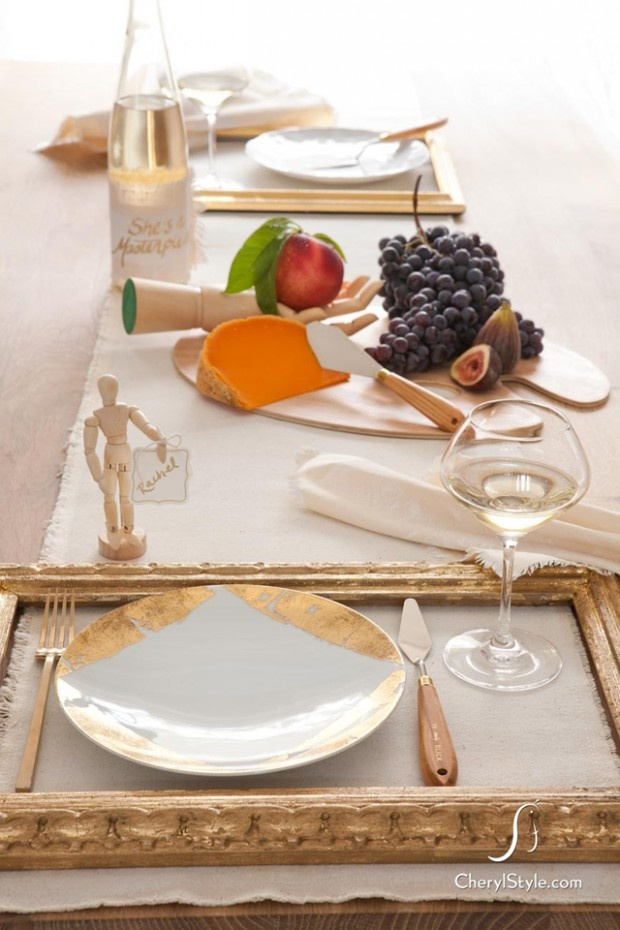Picture Frame Placemats