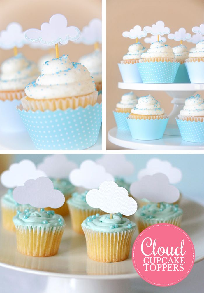 Baby Shower Ideas Cupcake Themed : Rain Cloud Theme {june.birthday} Pinterest