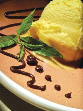 Mango-Coconut Cream Sorbet. vegan | Healthy Vegan | Pinterest