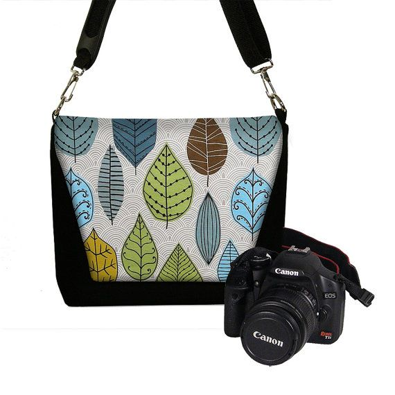 Beautiful Dslr Camera Bag SMALL Camera Case Womens Mini By Janinekingdesigns