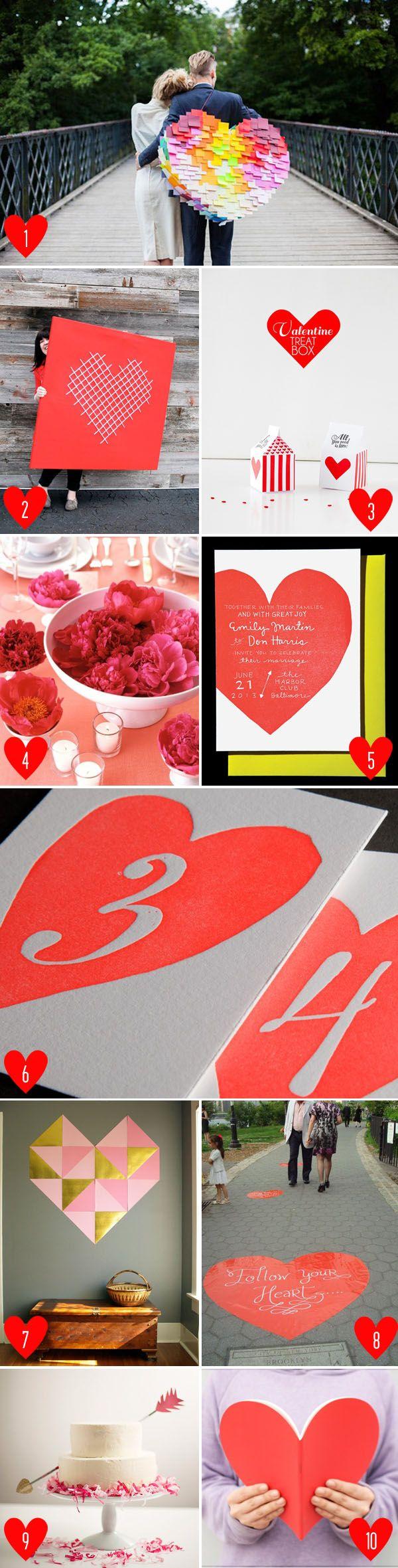 modern valentine's day decor