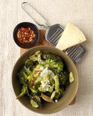 Roasted Broccoli with Pumpkin Seeds and Grated Pecorino | Recipe
