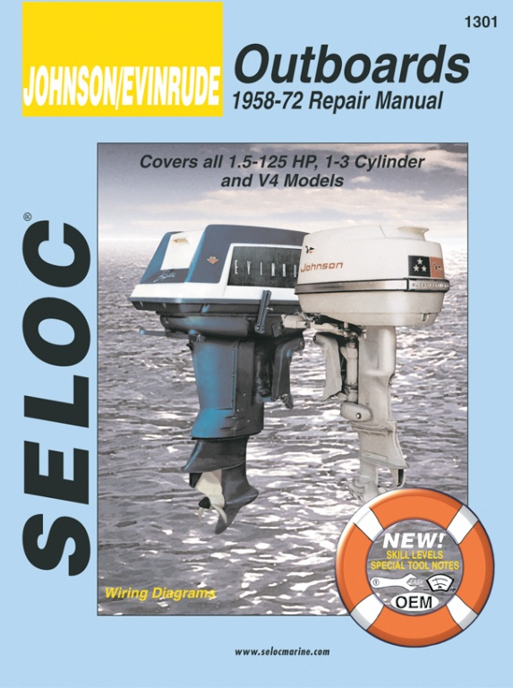 Evinrude outboard repair manual - Table of Contents