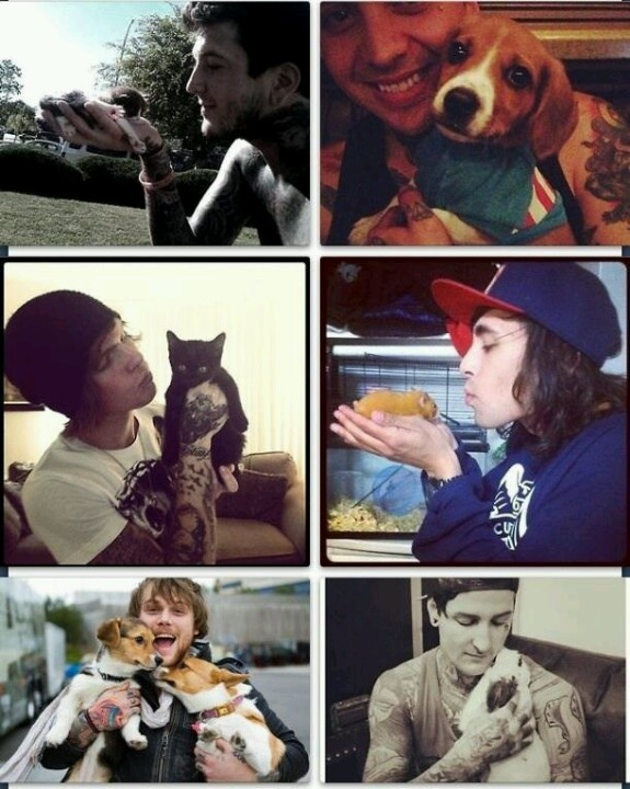 Tony Perry  Alan Ashby  Vic Fuentes  Danny Worsnop  and Mitch LuckerMitch Lucker And Vic Fuentes
