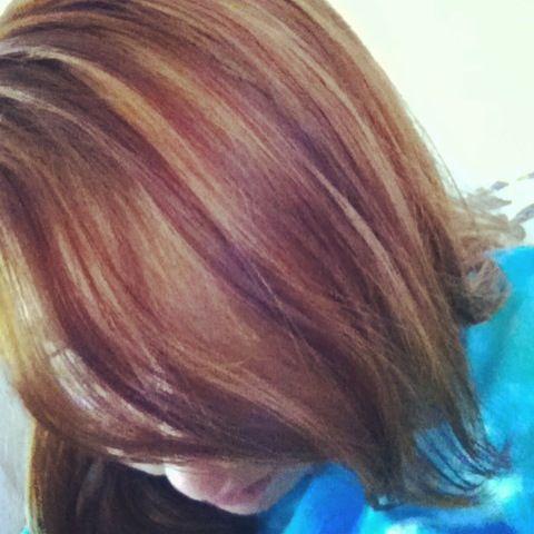 Auburn base/ caramel highlights | HAIR | Pinterest