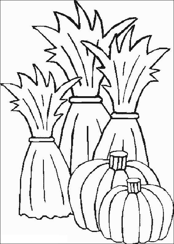 Hay stack coloring pages