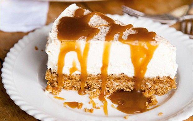 Mascarpone cheesecake with nutmeg & Maple Syrup caramel recipe