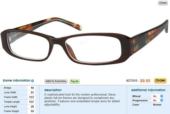 Zenni Optical Crooked Glasses : Zenni Optical - give it a try!