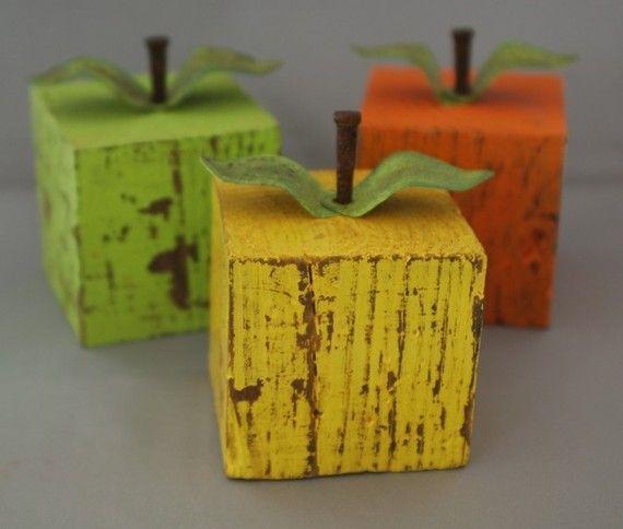 cute!  Apples! Love it