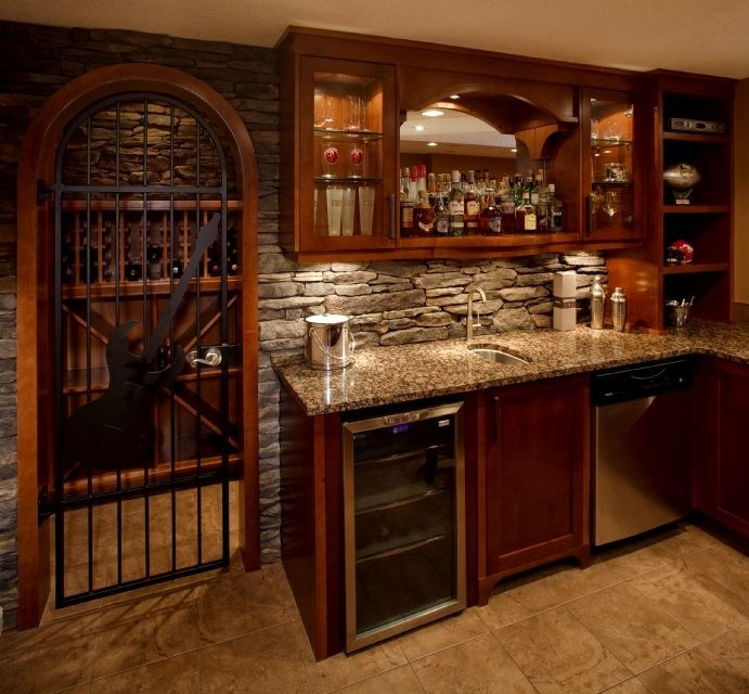 Beautiful wine room dream home pinterest for Wine rooms in homes