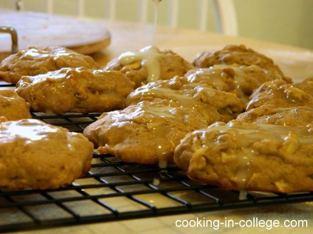 Glazed Apple Spice Cookies | Cookies | Pinterest