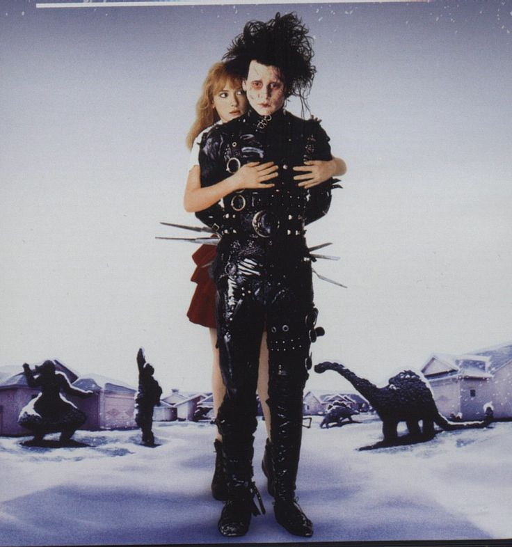 edward scissorhands and kim halloween costume
