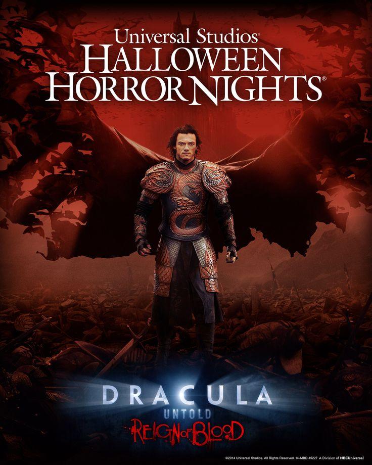 Dracula Untold Halloween Horror Nights 2014
