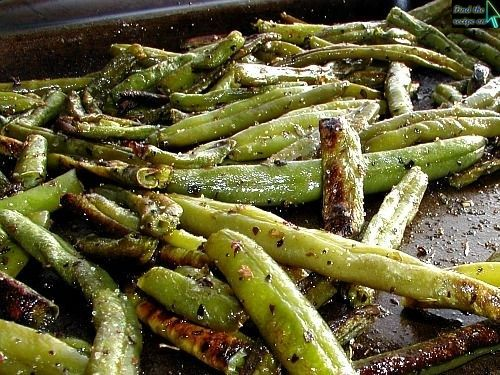 Roasted Green Beans | side dishes | Pinterest
