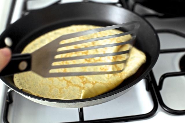 Banana Bread Crepe Cake With Butterscotch Recipe — Dishmaps