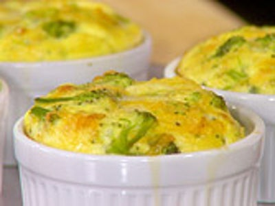 Crustless Broccoli-Cheddar Quiche | Food and Recipes | Pinterest