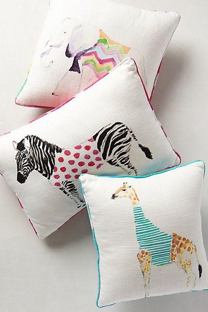 Safari Saunter Pillow - anthropologie.com
