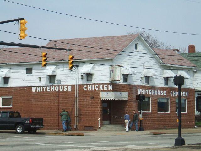 Barberton Ohio : Whitehouse Chicken Barberton, Ohio (jaywalked across that corner when ...