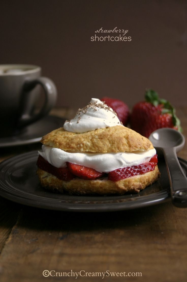 Strawberry Shortcakes from @Anna @ Crunchy Creamy Sweet