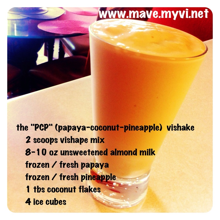 the papaya-coconut-pineapple #vishake. no wonder body by vi is the #1 ...