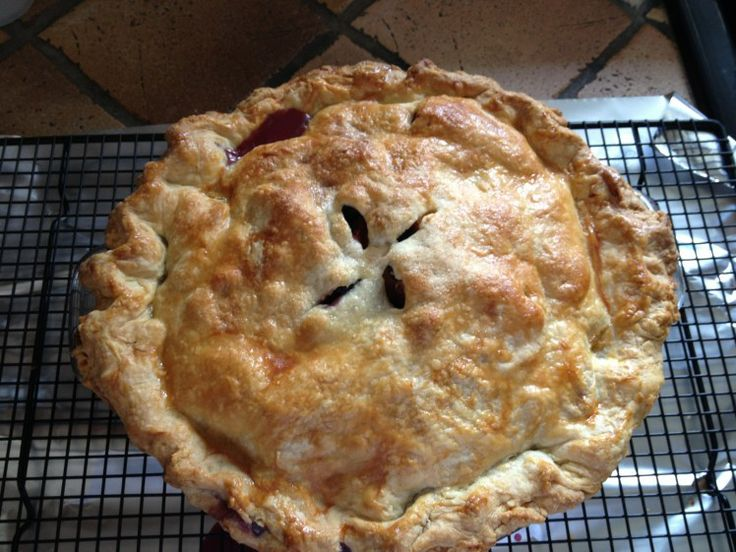 Peach and Blueberry Pie | Pies!!!!! | Pinterest