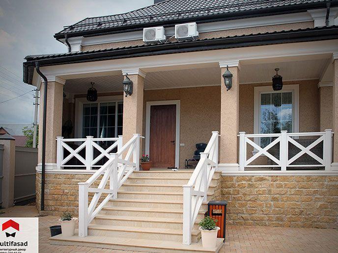 Дома в американском стиле фасады фото