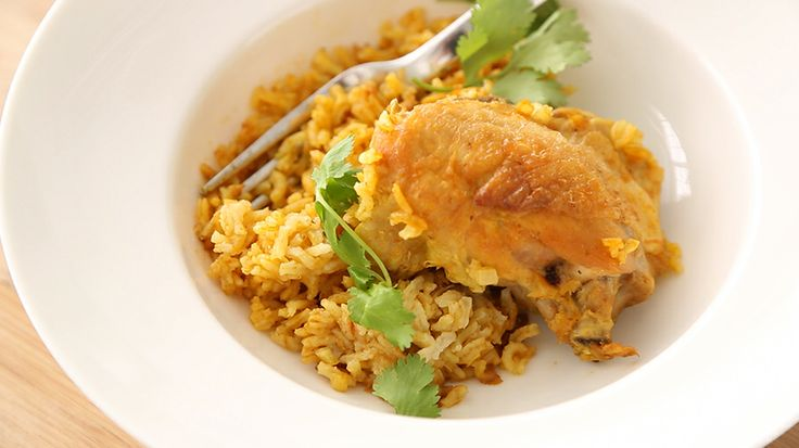 Curried Chicken with Coconut Rice | Other Recipes- i.e. maybe not so ...