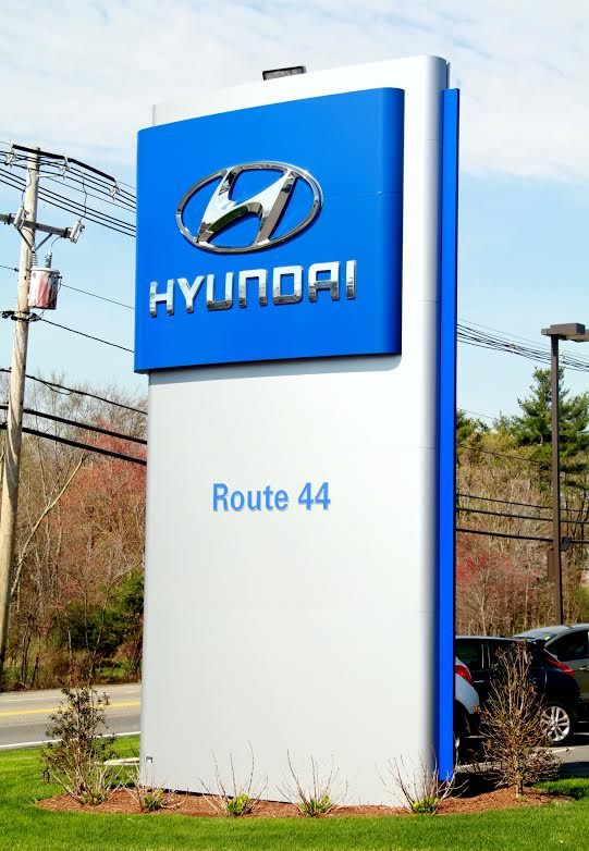You Can T Miss The Route44hyundai State Of The Art