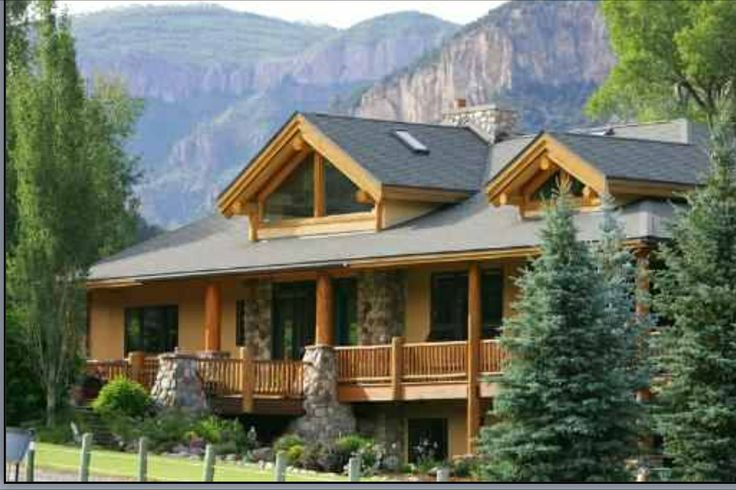 My Dream Log Cabin Home Log Cabins Pinterest