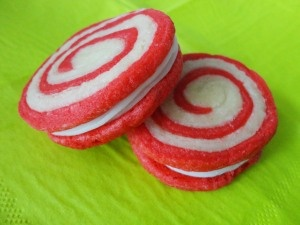 Peppermint pinwheel cookies | Christmas Recipes | Pinterest